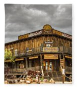 Goldfield Ghost Town - Peterson's Mercantile  Fleece Blanket