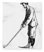 Golf, 1891 Fleece Blanket