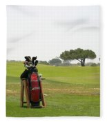 Golf Bag Fleece Blanket