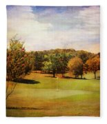 Golf Course IIi Fleece Blanket
