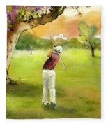 Golf In Spain Castello Masters  04 Fleece Blanket