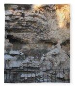 Golgotha The Place Of The Skull Fleece Blanket