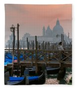 Gondole. Venezia. Fleece Blanket