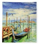 Gondolla Venice Fleece Blanket