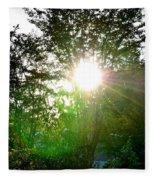 Good Day Sunshine Fleece Blanket