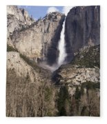 Good Morning Yosemite Fleece Blanket