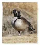 Goose Exercises  Fleece Blanket