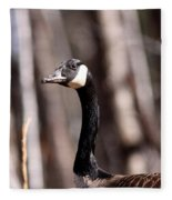 Goose Of The Woods Fleece Blanket