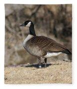 Goose Profile Fleece Blanket