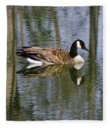 Goose Reflections Fleece Blanket