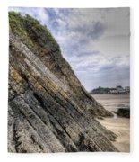 Goscar Rock Tenby 3 Fleece Blanket