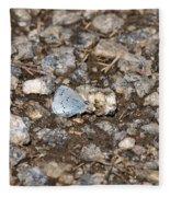 Gossamer-winged Butterfly Fleece Blanket