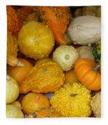 Gourds Galore Fleece Blanket