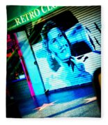 Grab A Star On Sunset Boulevard In Hollywood Fleece Blanket