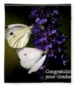 Graduation Congratulations Fleece Blanket