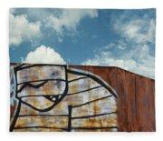 Graffiti Monster Fleece Blanket
