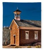 Grafton Schoolhouse Fleece Blanket