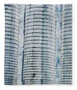 Grain Elevator Fleece Blanket