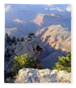 Grand Canyon 18 Fleece Blanket