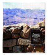 Grand Canyon 35 Fleece Blanket