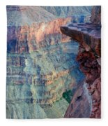 Grand Canyon A Place To Stand Fleece Blanket