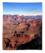 Grand Canyon Daytime Fleece Blanket