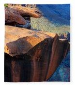 Grand Canyon Into Space Fleece Blanket