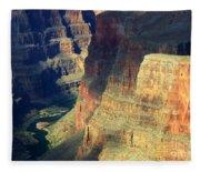 Grand Canyon Magic Of Light Fleece Blanket