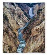 Grand Canyon Main View Fleece Blanket