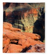 Grand Canyon North Rim Fleece Blanket