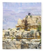 Grand Canyon Overlook Fleece Blanket