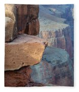 Grand Canyon Raw Nature Fleece Blanket