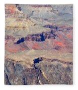 Grand Canyon Rock Formations IIi Fleece Blanket