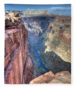 Grand Canyon Toroweap Vista Fleece Blanket