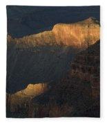 Grand Canyon Vignette 1 Fleece Blanket