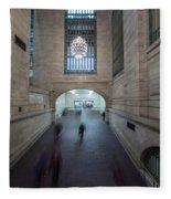 Grand Central Interior Fleece Blanket