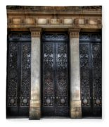 Grand Door - Leeds Town Hall Fleece Blanket