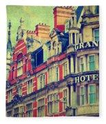 Grand Hotel Fleece Blanket