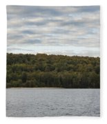 Grand Island E Channel Lighthouse 5 Fleece Blanket