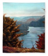 Grand River Look-out Fleece Blanket
