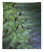 Grass Abstraction Fleece Blanket