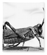 Grasshopper Fleece Blanket