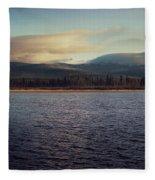 Gravel Lake Fleece Blanket