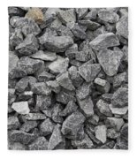 Gravel - Road Metal Fleece Blanket