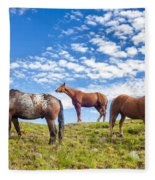 Grazing Fleece Blanket