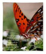Great Friends Card Fleece Blanket