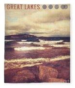 Great Lakes Fleece Blanket