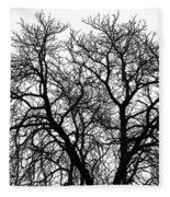 Great Old Tree Fleece Blanket