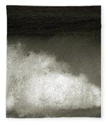 Great Wave For Surfers Fleece Blanket