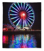 Great Wheel 199 Fleece Blanket